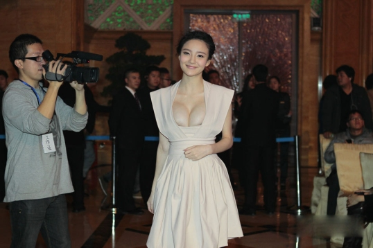 Liuyuxin attending a show by Phoenix TV